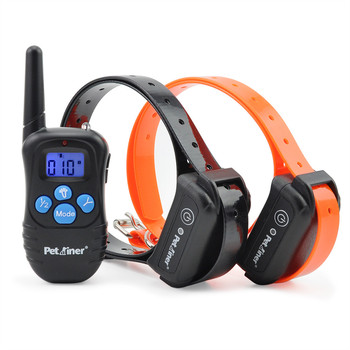 Remote 300M Dog Training Collar Anti Bark Electronic Shock Vobration For 2 Dogs