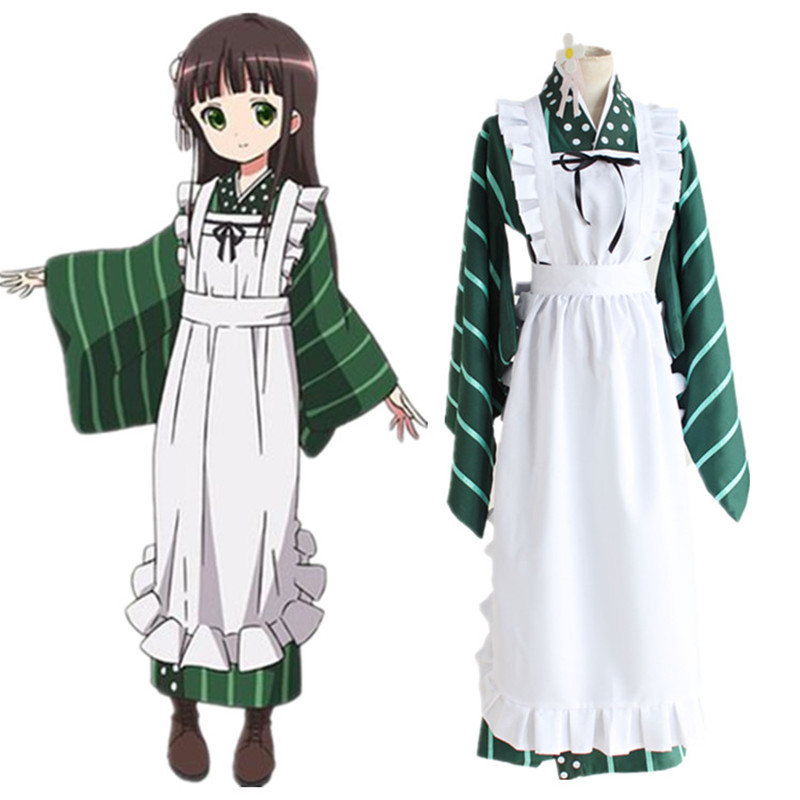 Ujimatsu Chiya Cosplay Costumes Japanese Anime Is The