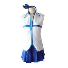 Free shipping-Fairy Tail Fairy Lucy cosplay costumes anime cos Clothing