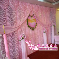 Лидер продаж 20ft * 10FT водопад Свадебный фонов, свадебные декораций