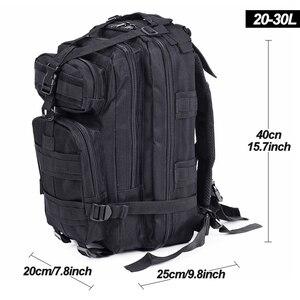 Image 4 - 20 30L unisexe militaire sac à dos tactique, hommes Trekking Sport voyage sacs à dos, Camping randonnée sacs de pêche