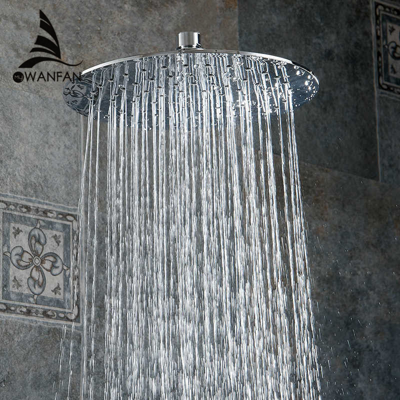 Bathroom Rainfall High Pressure Rain Top Spray ABS Square Rain Top Spray Shower Head + Handheld Shower Head Bathroom With FS240 rain siemer soovin sulle head