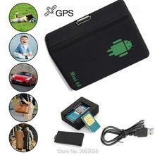 Global general mini a8 gsm kids pet localizador del perseguidor del coche en tiempo real gsm/gprs/lbs de seguimiento adaptador de corriente alta calidad