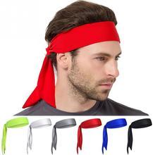 Спортивный антиперспирант головной платок для улицы унисекс Спортивная Повязка На Голову Теннис Бег Фитнес Пиратская повязка на голову 6 цветов на выбор