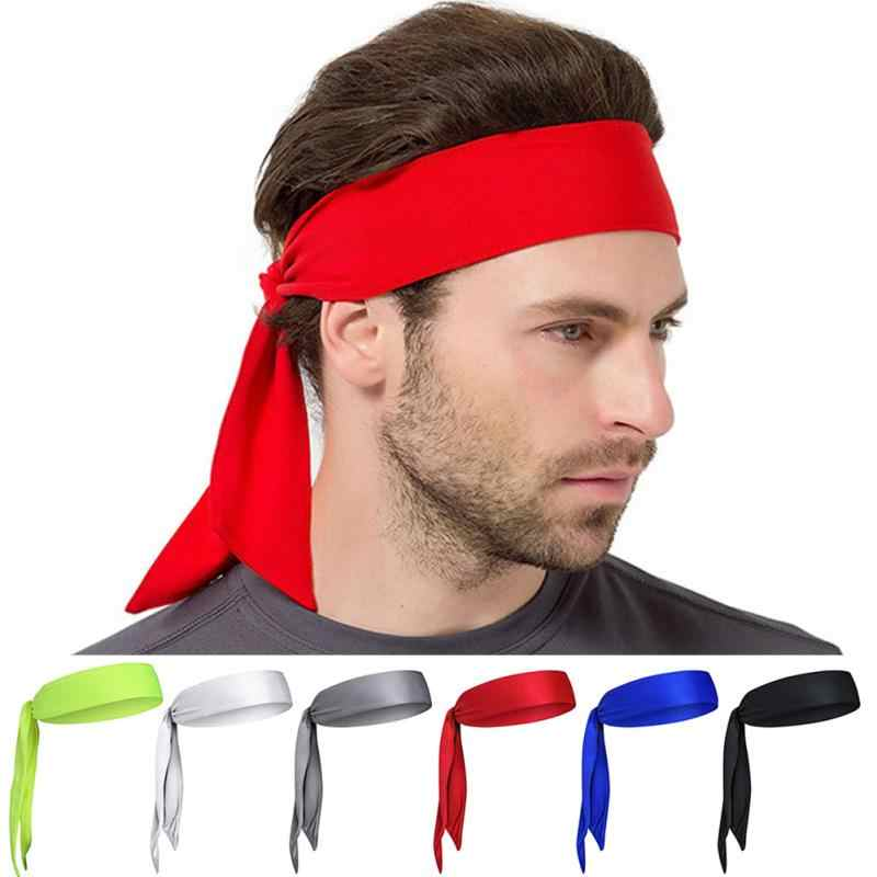 Sports Antiperspirant Headscarf Outdoor Unisex Sports Headband Tennis Jogging Fitness Pirate Headband 6 Colors to Choose