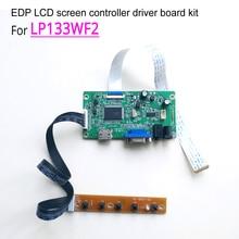 "Для LG LP133WF2-SPL1/2/3/4 WLED 13,"" 1920*1080 EDP 30 Pin ноутбук ПК ЖК-экран HDMI+ VGA дисплей контроллер драйвер платы комплект"