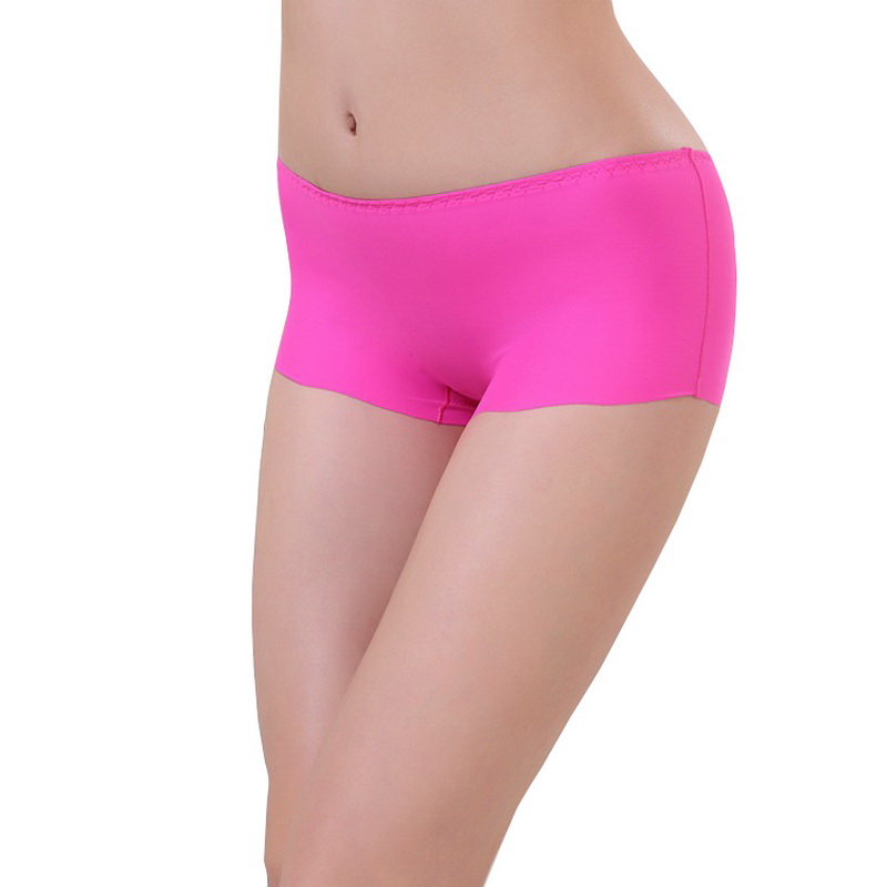 2019 Sexy Women Soft Seamless Safety Short Pants Summer Under Skirt Shorts Comfortable Ice Silk Breathable Short Tights For Girl
