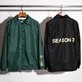 Yeezy hombres impulsar bomber jacket brand clothing homme veste abrigos chaquetas para hombre de hip hop kanye west yeezus gira capa patinetas