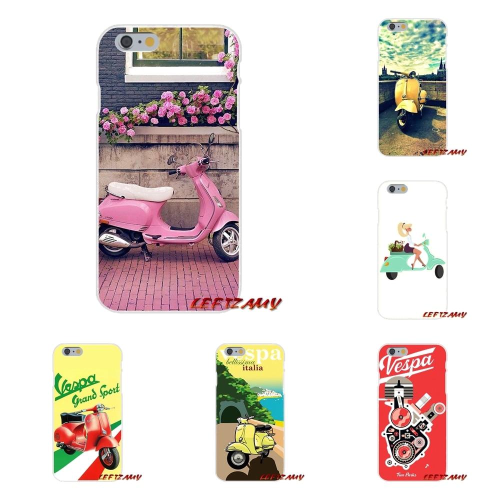 Аксессуары телефон оболочки чехлы для sony Xperia M2 M4 M5 E3 XA Aqua Z Z1 Z2 Z3 Z5 компактный <font><b>LG</b></font> k4 7 8 10 <font><b>V20</b></font> V30 2017 скутер vespa