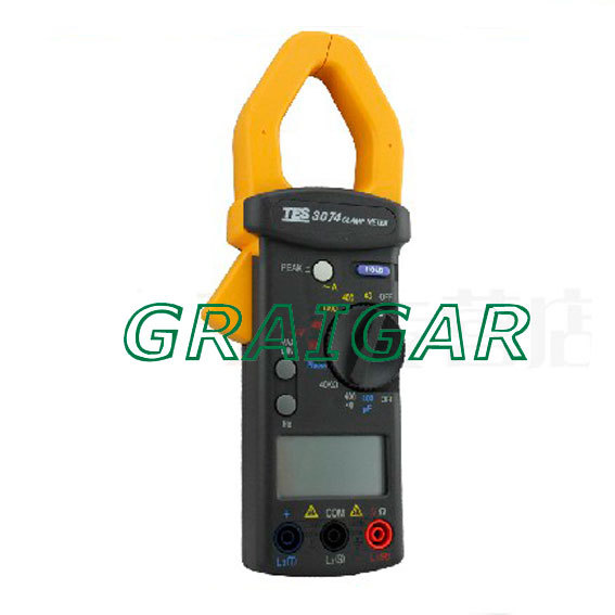 free shipping sales promotion AC 1000A Clamp Meter/TES-3074 AC 1000A Clamp Meter ...