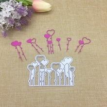 Julyarts Flower Heart Die Snijmallen En Embossing Metal Cutting Scrapbooking Card Making Craft Dies
