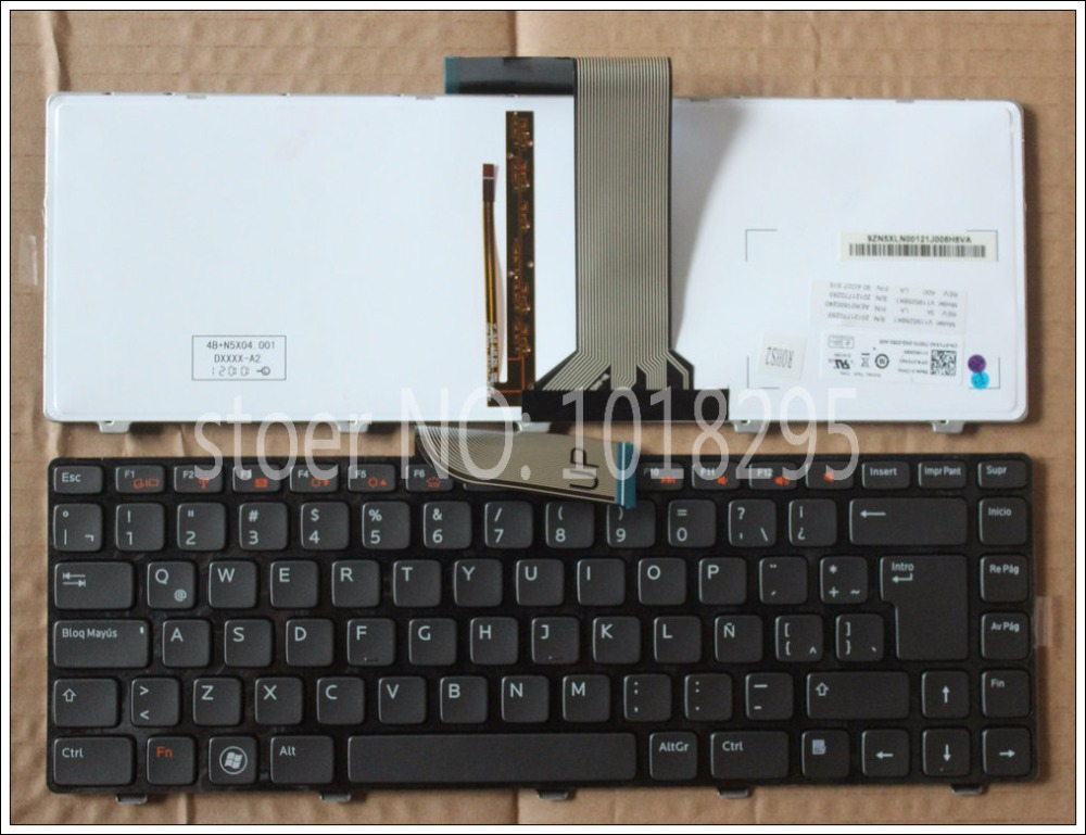New LA keyboard for Dell for XPS N7250 V3450 V131 N4120 7520 7420 Vostro V131 V131D