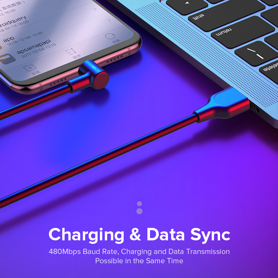 Image 5 - Venroii 5A USB Type C Cable 1m 2m 3m Fast Charging Type C Kable for Huawei P30 P20 Mate 20 Pro Phone Supercharge QC3.0 USBC Cabo-in Mobile Phone Cables from Cellphones & Telecommunications