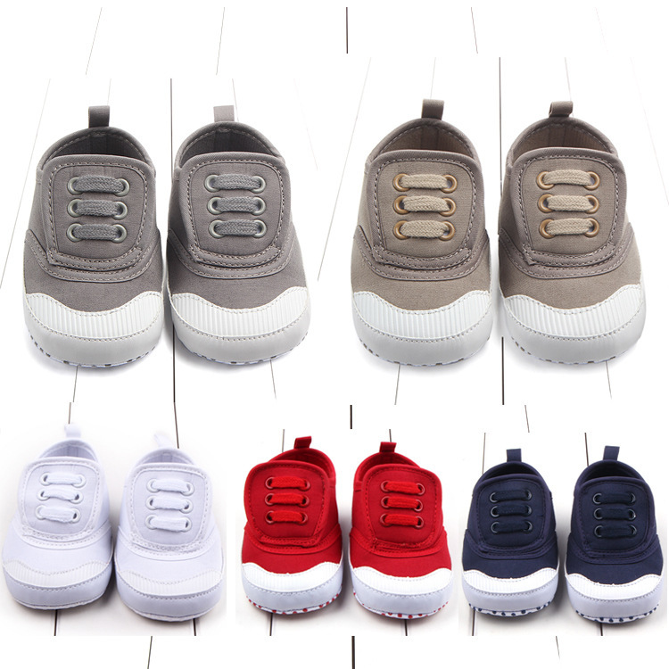 Autumn New Pattern Magic Subsidies Canvas Baby Shoe Baby Shoe Foreign Trade Study Walking Shoes D0634