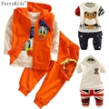 Kids Boys Clothes Sets Long Sleeve T shirt + Trousers Children Boy Sport Suit Cartton Baby Boy Clothing Set Autumn Cotton Wear