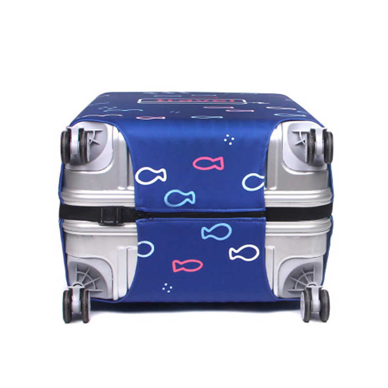 HMUNII Suitcase Travel Luggage Cover Elastic Dust Trolley Protection Cover Comfort And High Quality Fashion Travel Accessories