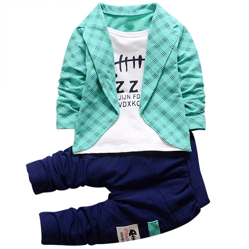2017 2pcs Baby Boys Clothing Kids Attire For Boy Clothes Toddler Cotton Plaid Gentleman Suit Children's Clothing Boy Tracksuits new arrival baby boy clothes sets plaid gentleman suit infant toddler boys vest pants children kids clothing set outfits 2 8 age