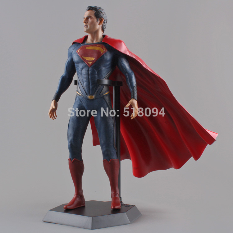 Crazy Toys Superman Man of Steel PVC Action Figure Collectible Model Toy 12 30cm high quality crazy toys superman man of steel pvc action figure collectible model toy 12 30cm free shipping kb0386