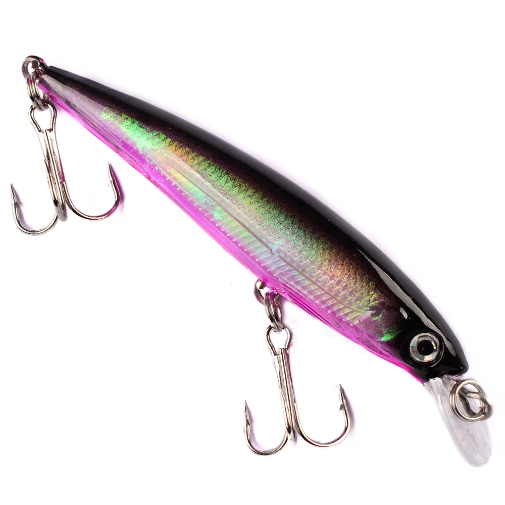 1Pcs 4.7g 7.5cm Minnow Fishing Lures 3D Eyes Topwater Floating Laser Aritificial Fishing Wobblers Crankbait Plastic Baits Pesca
