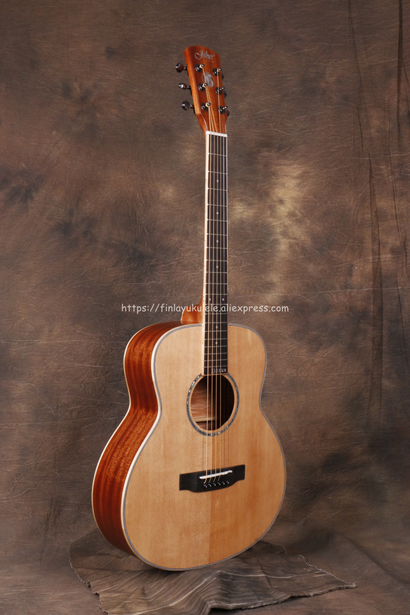 Joker 38 Inch Gsmini Body Solid Guitar With Solid Spruce Top