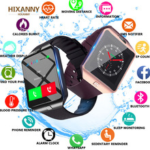 Bluetooth Smart Watch Smartwatch  Android Phone Call Relogio 2G GSM SIM TF Card Camera for iPhone Samsung HUAWEI PK GT08 A1 cawono bluetooth g12 smart watch with camera smartwatch tf sim card for iphone samsung htc lg huawei android phones pk dz09 a1
