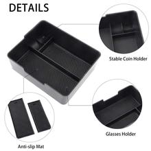 Center Console Organizer Tray Coin Sunglasses  Holder Accessory for Tesla Model 3
