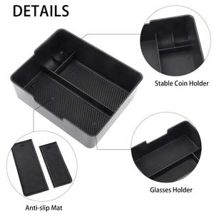 Image 1 - Center Console Organizer Tray Coin Sunglasses  Holder Accessory for Tesla Model 3