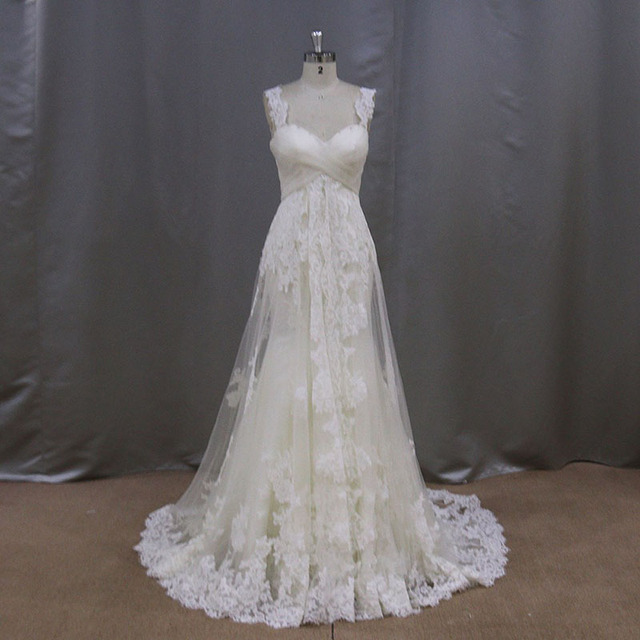 Vestido de Noiva Boho Wedding Dress Elegant A-Line Sweetheart  Lace Appliques Cap Sleeve Sleeveless Bridal Gown Wedding Dresses