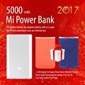 Оригинал Mi Power Bank 5000 мАч Высокое Качество Xiaomi 5000 Портативный Банк силы + Подарок Мешок Небольшой Мешок Хранения Для iphone 4/5/5s/5