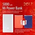 Mi banco do poder 5000 mah alta qualidade xiaomi 5000 original portátil banco de potência + presente bolsa saco de armazenamento pequeno para iphone 4/5/5s/5