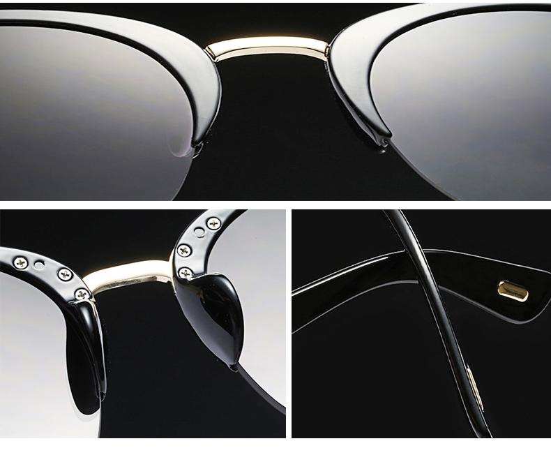 HTB1EjwydS7PL1JjSZFHq6AciXXaz - RSSELDN Newest Semi-Rimless Sunglasses Women Brand Designer Clear Lens Sun Glasses For Women Fashion Sunglass Vintage oculos