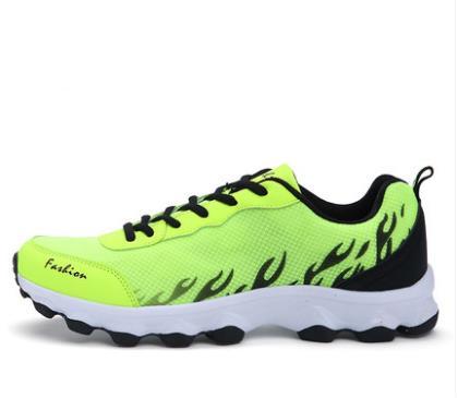 Sho Hommes Plus Maille Mesh Chaussures Sneakers Lace Up De Respirant Automne Mode Couple Casual Printemps Amant Big Size CqBrTwC