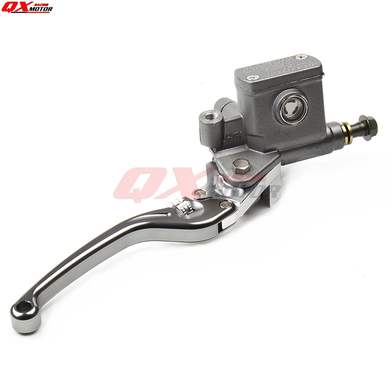 Image 4 - CNC Right Brake Lever Master Cylinder For125cc 150cc Dirt Bike ATV Scooter Pocket Bike Supermoto Off Road motorcycle-in Levers, Ropes & Cables from Automobiles & Motorcycles on AliExpress