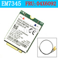 Lenovo ThinkPad EM7345 4G LTE Mobile Broadband 4G CARD WWAN EM7345