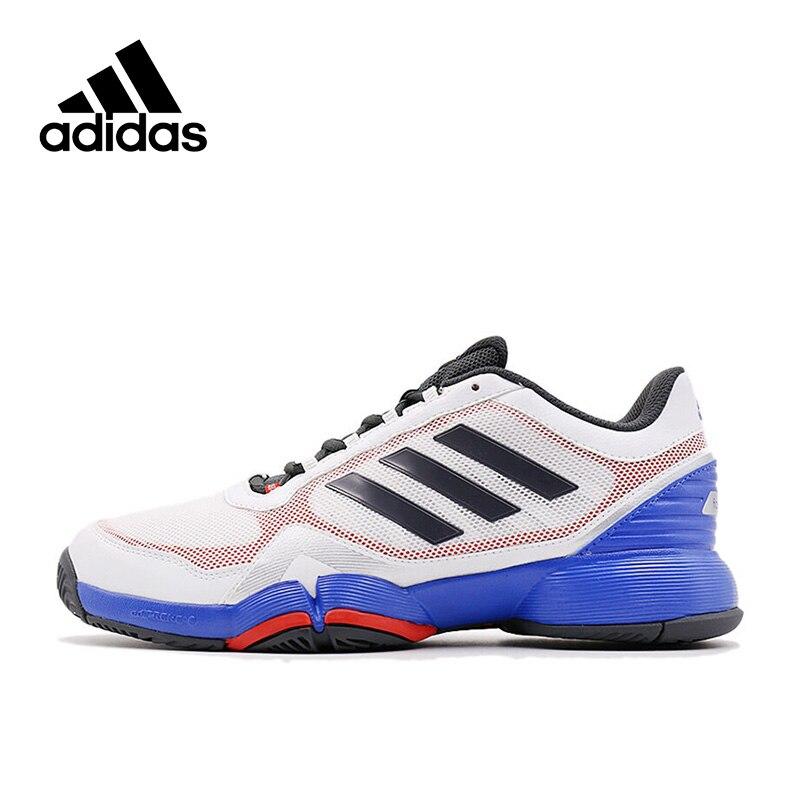 New Arrival 2017 Original Adidas Fast Court 2 M mesh Men's Tennis Shoes Sneakers цены онлайн