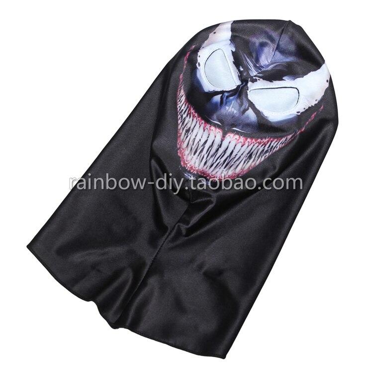 Hero Catcher Máscara venenosa de alta calidad Negro Spiderman - Disfraces - foto 2