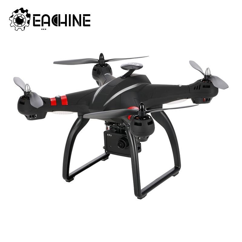 BAYANGTOYS X21 Brushless WIFI Double GPS FPV Racing RC Drone Quadcopter 1080 p Cardan HD Caméra Noir 2.4g 6 -axe