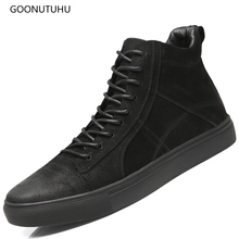 2019 new autumn winter men's boots military casual shoes genuine leather cow boot plus size shoe man lace-up ankle boots for men vianoch new fashion womens ankle boots casual flats shoes black zip up autumn spring shoe lady size 40 41 42 wo1808101