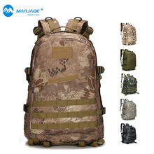 Mens Large Capacity Military Backpack Waterproof Travel Backpack 3D Attack Backpack Nylon Army Patrol Camouflage Rucksuck Bags цена 2017