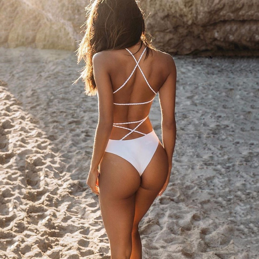 Beautiful swimwear one piece 2