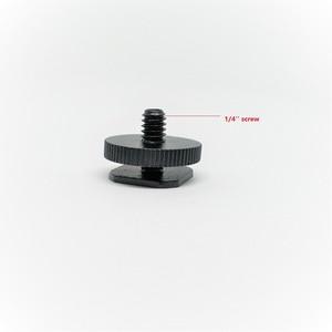 Image 1 - كاليو 1/4 ترايبود برغي إلى فلاش الحذاء الساخن محول تركيب ل DSLR SLR على Hotshoe استوديو ملحق برغي ملحقات ستوديو الصور