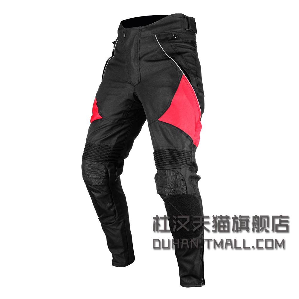 DUHAN Professional Moto Riding Protective Trousers Waterproof Windproof Motorcycle Pants Womens Mens Cycling race Sports Pants