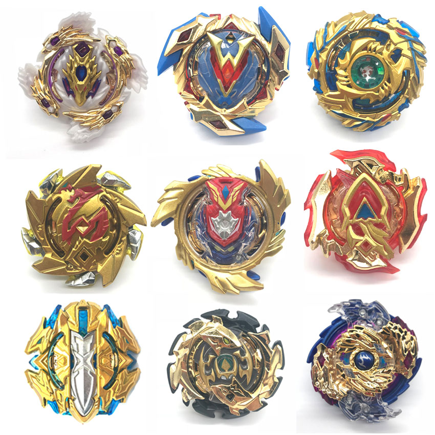 Gold series All Models Launchers <font><b>Beyblade</b></font> Burst GT Toys Arena Bayblade Metal God Fafnir Spinning Top Bey Blade Blades Toy AA image