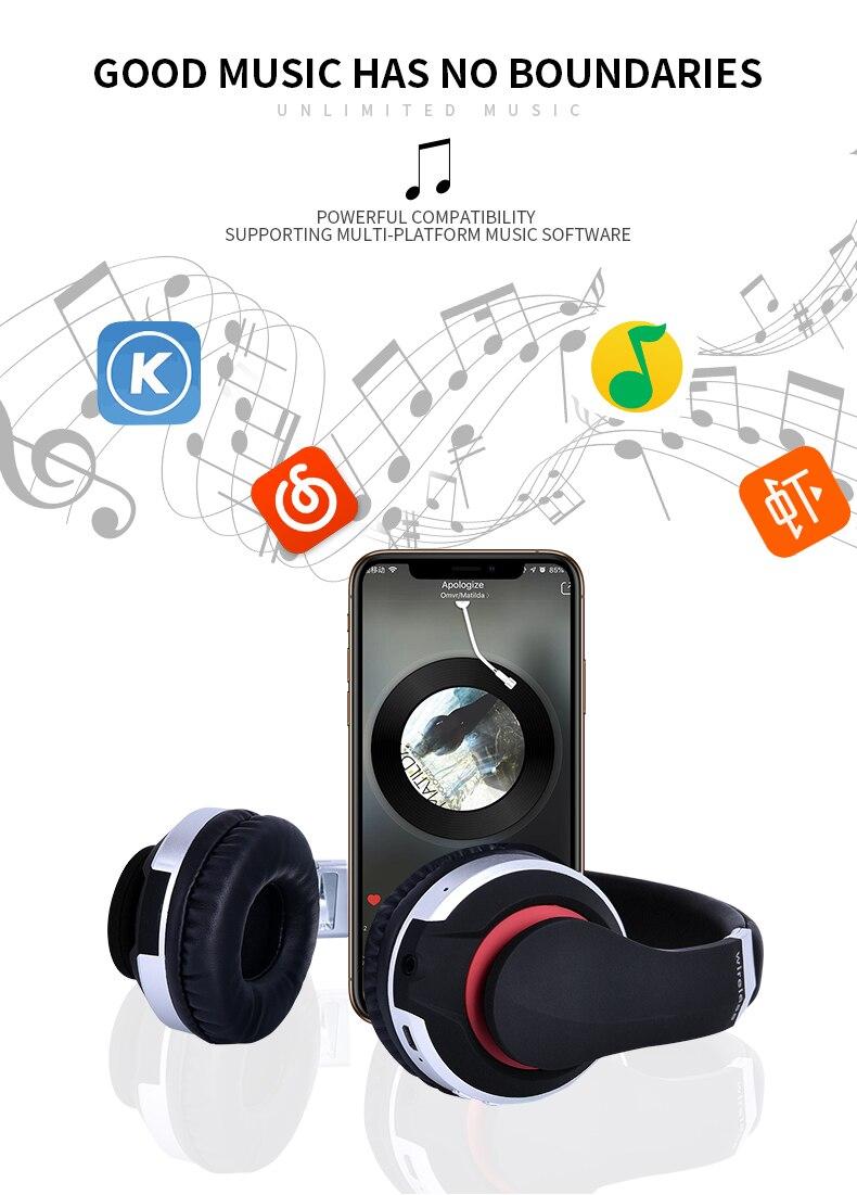 HOT SALE] MH7 Wireless Headphones Bluetooth Headset Foldable