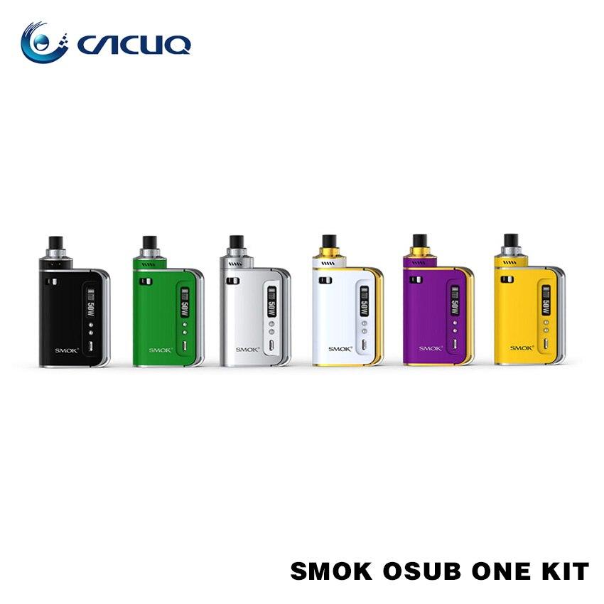 ФОТО Original Smok OSUB One TC Starter Kit with Built-in 2200mAh Battery Smoktech Osub One 50W Kit with Leak-proof Hidden Tank
