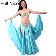 52a9beed5 New Performance Dancewear Bellydance Clothes Outfit C/D Cup Maxi Skirt  Professional Women Egyptian Belly