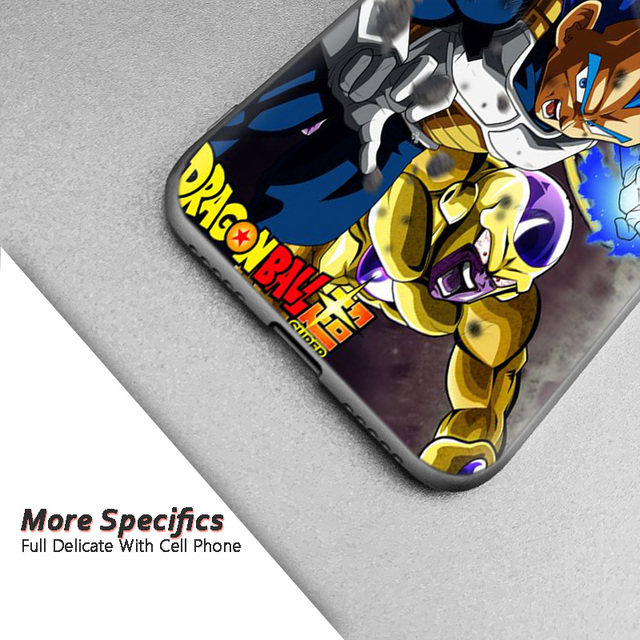 Dragon Ball Vegeta Silicone Cover Case for Xiaomi Redmi Models