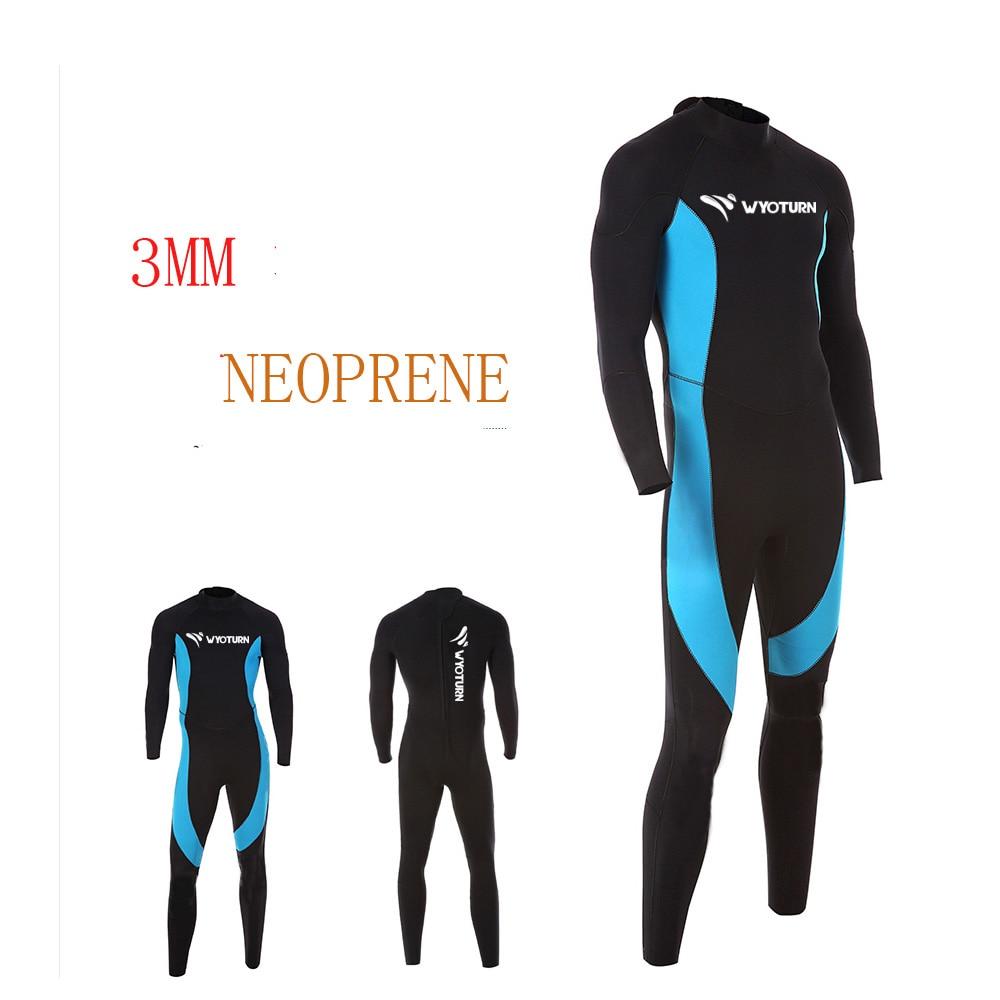 2017 Diving Suit 3MM Neoprene Men Woman Pesca Diving Spearfishing Wetsuit Surf Split Suit Snorkel Swimsuit