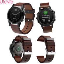 Luxury Leather Pointed Strap Replacement wriststrap For Garmin Fenix 5S plus GPS Professional Factory Price watch band