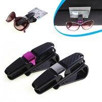 2017 Car StylingHigh Quality Car Auto Sun Visor Clip Holder For Reading Glasses Sunglasses Eyeglass Card